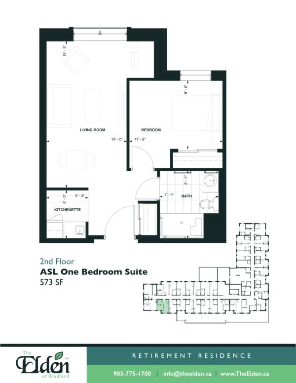 ASL One Bedroom Suite